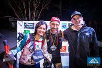 Avec Jakeline et Gerhard Linner, le directeur de course.