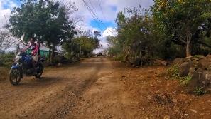 Quelque part sur la route entre San Pedro et San Ramon.